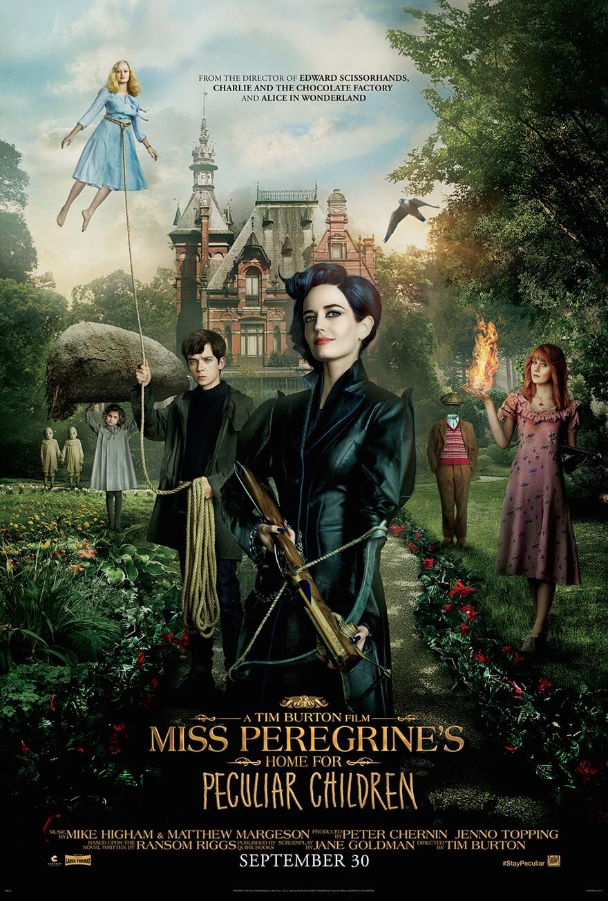 Miss Peregrine's Home for Peculiar Children (2016) مترجم