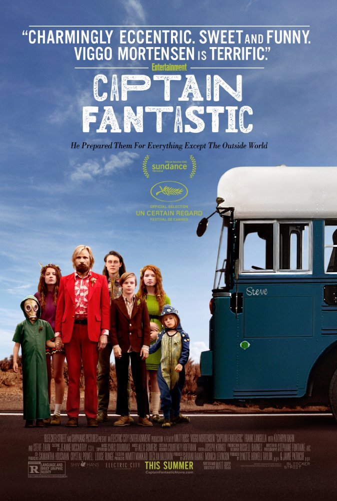 Captain Fantastic 2016 Cut