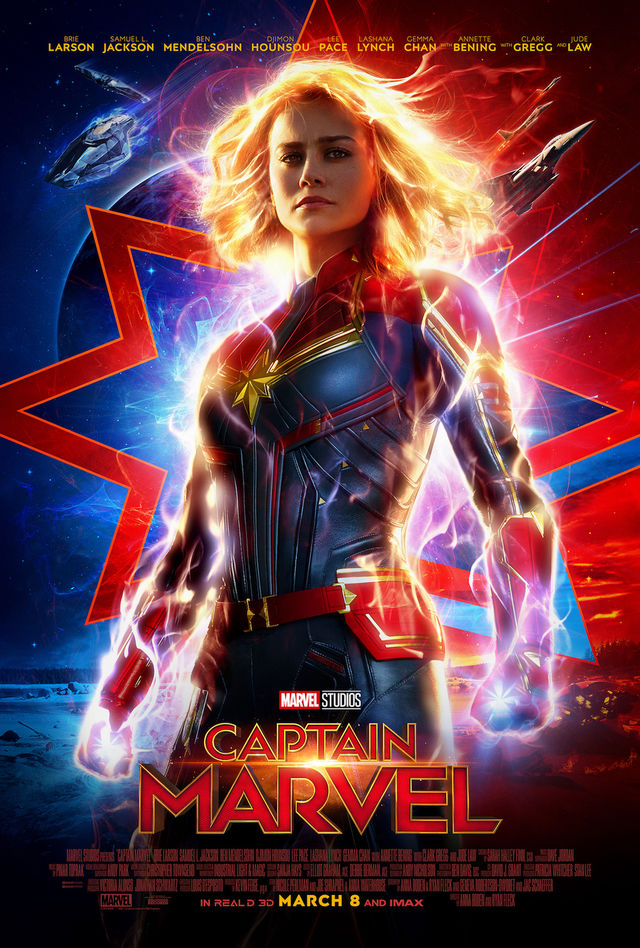 Captain Marvel HD 2019