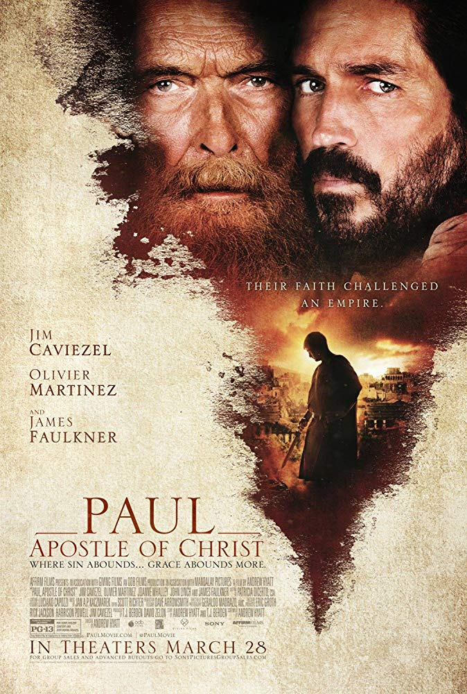 2018 Paul, Apostle of Christ