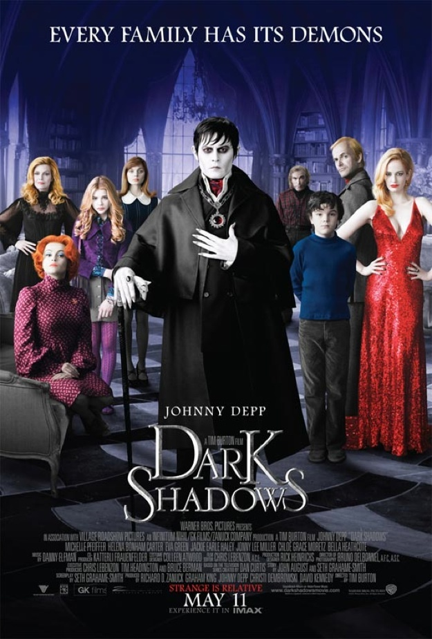 Dark Shadows 2012 Cut