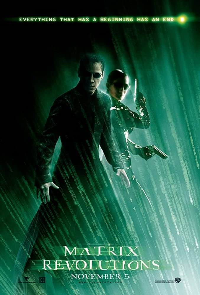 The Matrix: Revolutions 2003 Cut