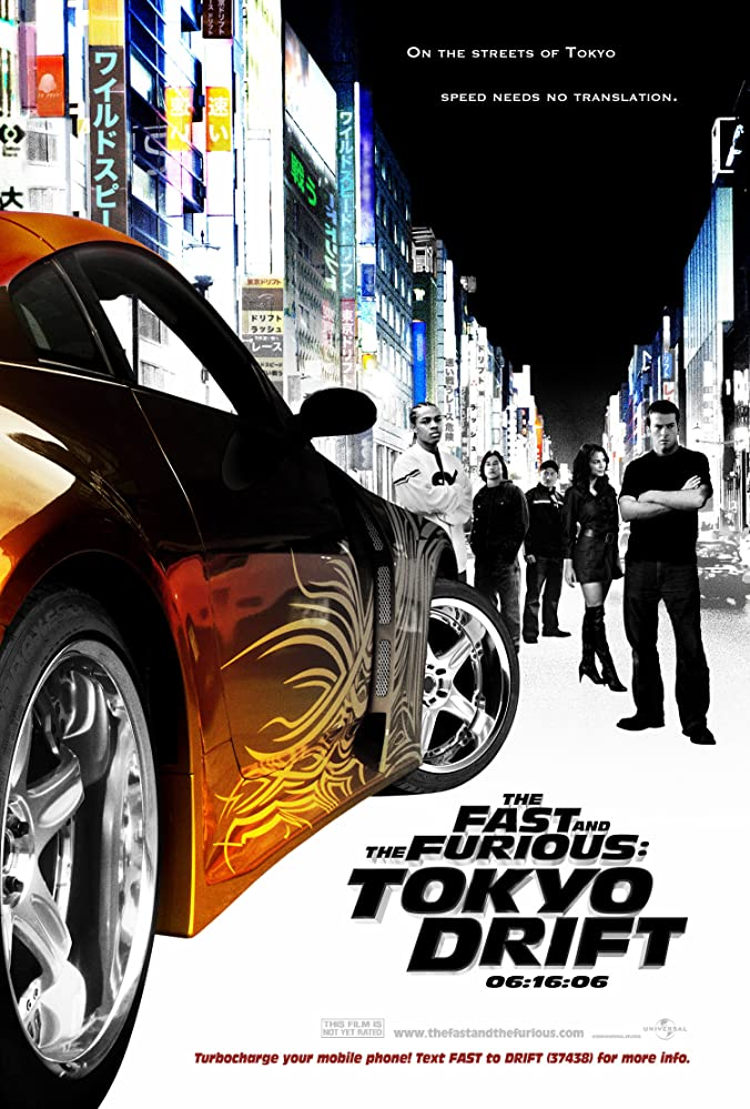The Fast and the Furious: Tokyo Drift 2006 Cut