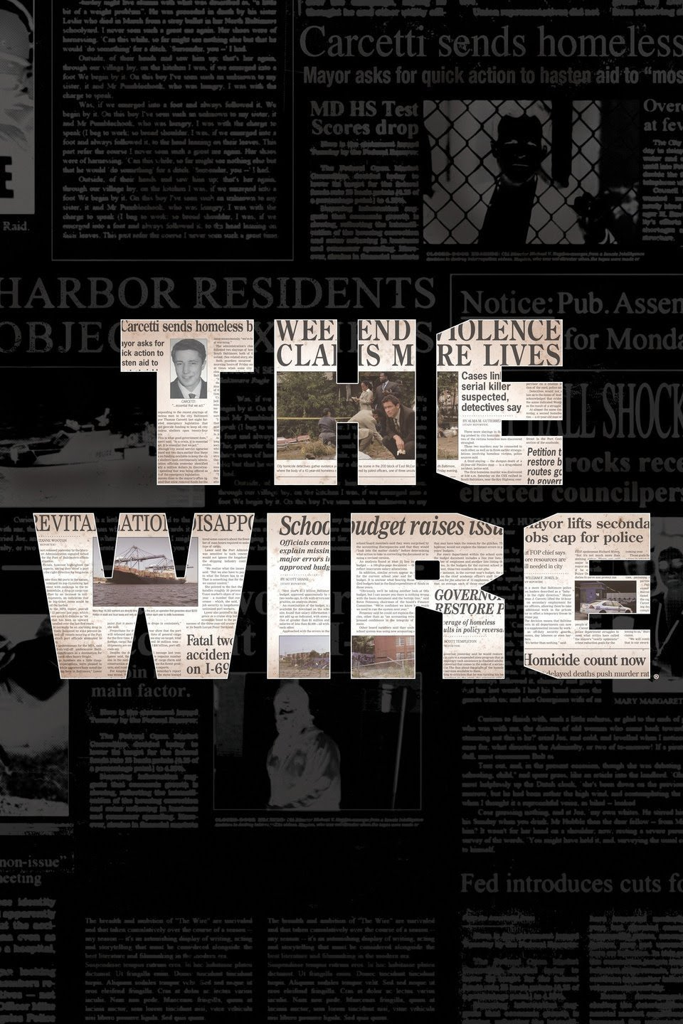 The Wire S01 E11 Cut