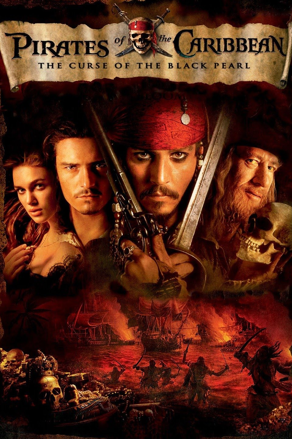 Pirates of the Caribbean 1 2003 Cut