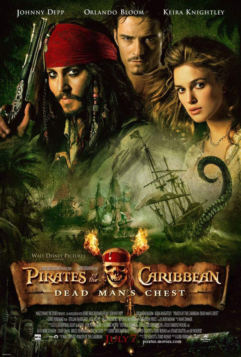 Pirates of the Caribbean 2 2006 Cut
