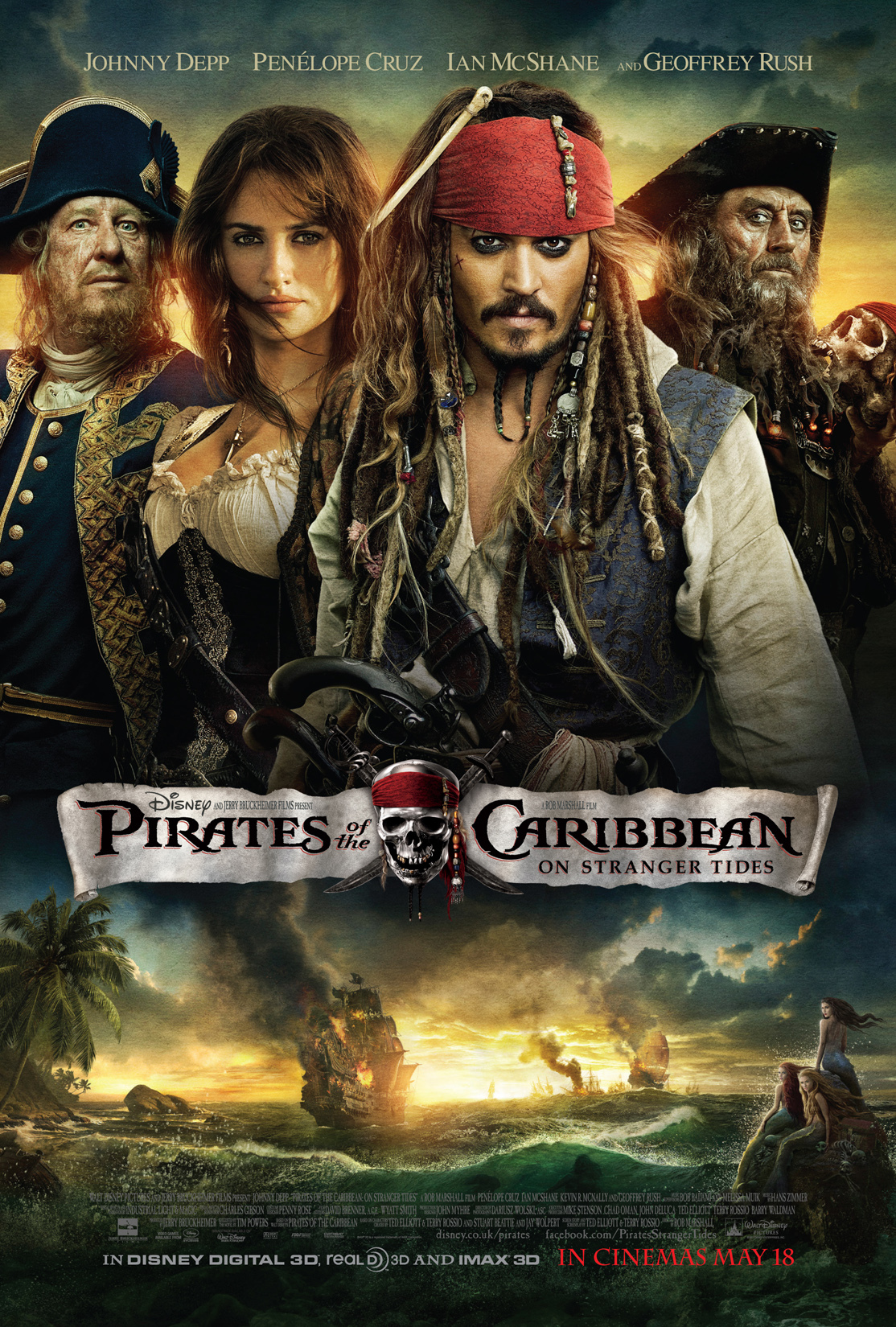 Pirates of the Caribbean 4 2011 Cut