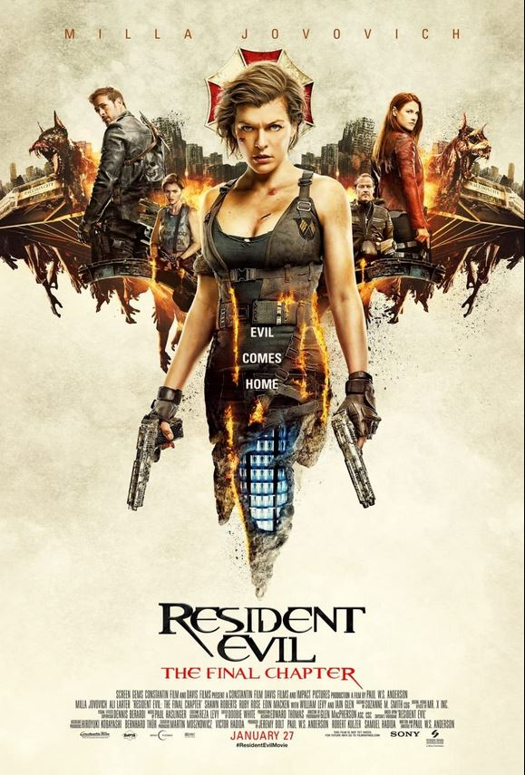 Resident Evil: The Final Chapter 2016 Cut