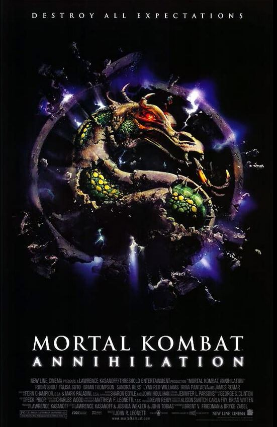Mortal Kombat Annihilation 1997 Cut