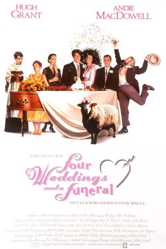 Four Weddings and a Funeral 1994 Cut